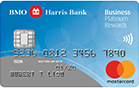 BMO Harris Bank Business Platinum Rewards MasterCard® Credit Card