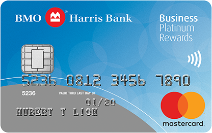 BMO Harris Bank Rewards MasterCard BusinessCard