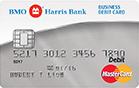 BMO Harris Bank Debit MasterCard® BusinessCard