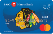 Mastercard gift card bmo harris bank chicago blackhawks gift card reheart Image collections