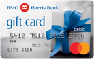 BMO Harris Bank Mastercard<sup class='padding-right--small'>®</sup> Gift Card<sup>7</sup>