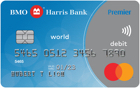 BMO Harris Bank World Debit Mastercard<sup>®</sup>