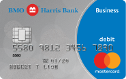 BMO Harris Bank Debit Mastercard<sup>®</sup> BusinessCard