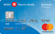 BMO Harris Bank Business Platinum Mastercard<sup>®</sup> Credit Card