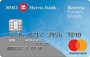 BMO Harris Bank Business Platinum Rewards Mastercard<sup>®</sup> Credit Card