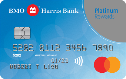 BMO Harris Bank Platinum Rewards Mastercard