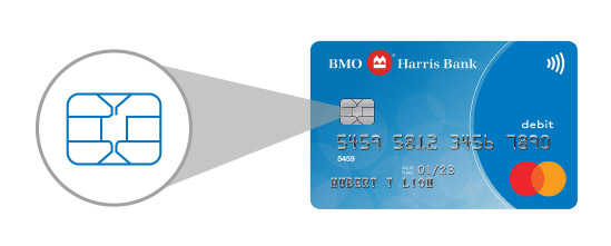 Chip cards checking accounts bmo harris bank our credit reheart Choice Image