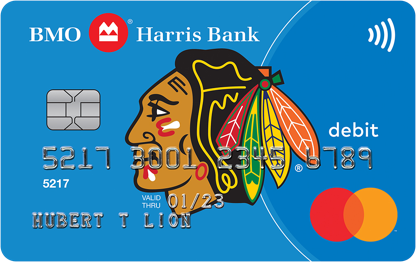 Chicago blackhawks debit mastercard debit cards bmo harris bank bmo harris blackhawks debit mastercard reheart Choice Image