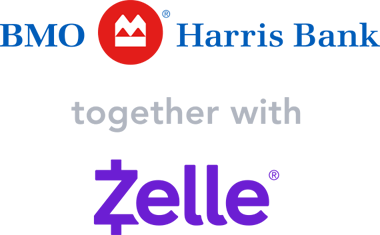 BMO Harris Bank togethere with Zelle