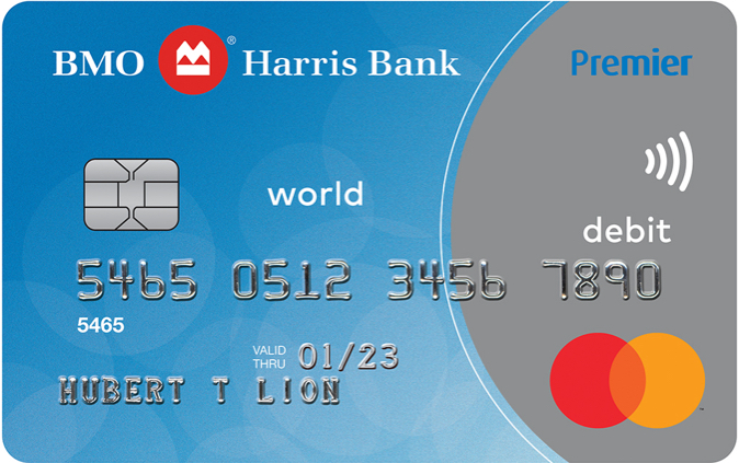 BMO Harris Bank World Debit MasterCard