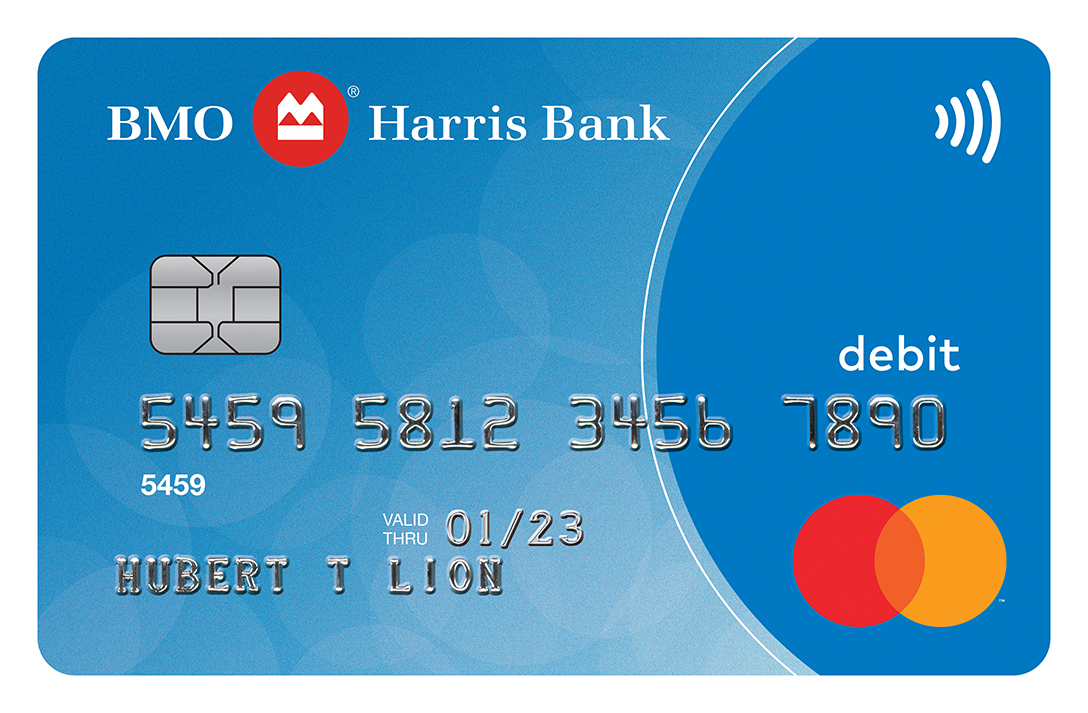 BMO Harris Bank Debit MasterCard