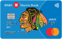 BMO Harris Blackhawks Debit Mastercard®